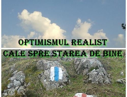 Atelier  Optimismul realist – cale spre starea de bine